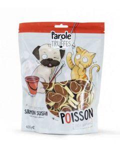 Parole de Truffes Friandises Sushi de Saumon pour chat et chien 400 g