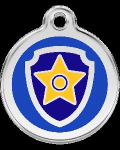 Paw Patrol Médaillon d'identité Chase - La Compagnie des Animaux