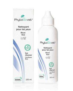 Phytobiovet Nettoyant yeux Bio pour chien et chat 100 ml