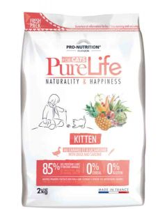 PureLife Croquettes Kitten 2 kg- La Compagnie des Animaux