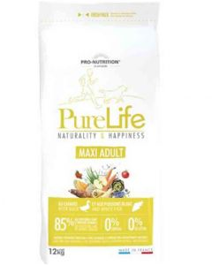 PureLife Croquettes Maxi Adult pour chien 12 kg- La Compagnie des Animaux