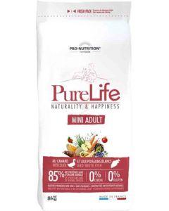 PureLife Croquettes Mini Adult pour chien 8 kg- La Compagnie des Animaux