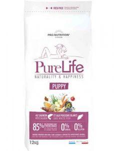 PureLife Croquettes Puppy pour chien 12 kg- La Compagnie des Animaux