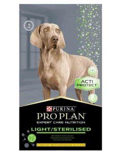 Purina Proplan Dog Expert Care Light / Sterilised Poulet 3 kg