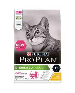 Purina Proplan Optidigest Adult Cat Sterilised Poulet 3 kg- La Compagnie des Animaux