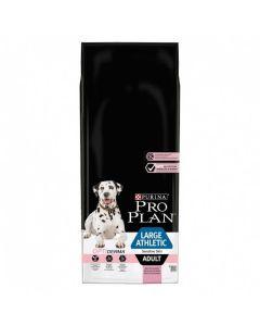 Purina Pro Plan Dog Large Athletic Adult Sensitive Skin Saumon OPTIDERMA 14 kg - La Compagnie des Animaux