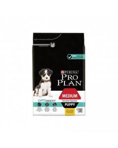Purina Pro Plan Dog Medium Puppy Sensitive Digestion Agneau OPTIDIGEST 3 kg - La Compagnie des Animaux