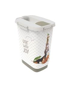 Rotho Mypet Pet Food Container JOY chat/chien 10 L - La Compagnie des Animaux