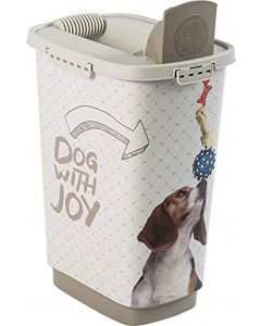 Rotho Mypet Pet Food Container JOY chien 25 L - La Compagnie des Animaux