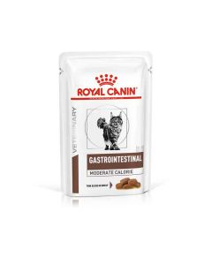 Royal Canin Veterinary Cat Gastrointestinal Moderate Calorie Sachet 12 x 85 grs