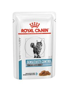 Royal Canin Veterinary Cat Sensitivity Control 12 x 85 g- La Compagnie des Animaux