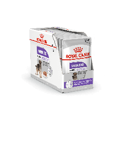 Royal Canin Canine Care Nutrition Sterilised mousse - La Compagnie des Animaux