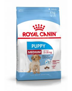 Royal Canin Puppy Medium 4 kg - La Compagnie des Animaux