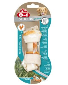8in1 Delights Pro Dental Bone pour chien S