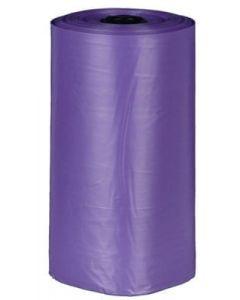 Trixie Sac Ramasse Crottes en Plastique avec Parfum Lavande pour chien 4 rouleaux de 20 sacs