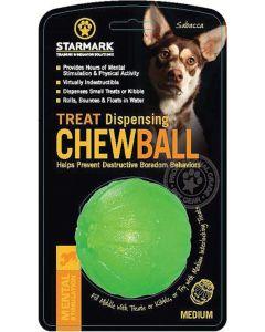 Starmark Jouet Treat Dispensing Chew Ball Ø 7cm M - La Compagnie des Animaux