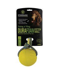 Starmark Jouet Swing'n Fling DuraFoam Fetch Ball L - La Compagnie des Animaux