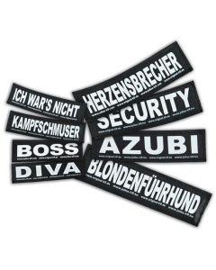 2 Stickers Velcro Julius K9 taille S DIVA