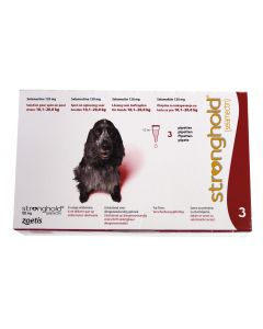 Stronghold 120 mg Chien 10-20 kg 6 pipettes- Dogteur
