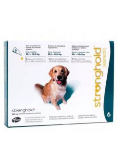 Stronghold 240 mg Chien 20-40 kg 6 pipettes
