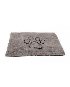 Tapis absorbant Dirty Dog Doormat gris pour chien M - La Compagnie des Animaux