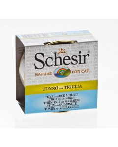 Schesir Thon avec Rouget pour chat 14 x 70 g