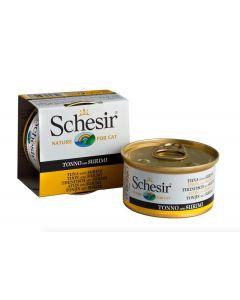 Schesir Thon avec Surimi en gelée pour chat 14 x 85 g