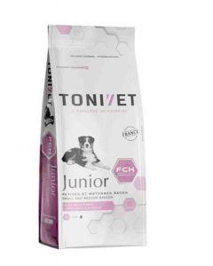 Tonivet Junior Petite et Moyenne Race chien 15 kg