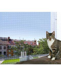 Trixie Filet de protection transparent fenêtre pour chat 8 x 3 m