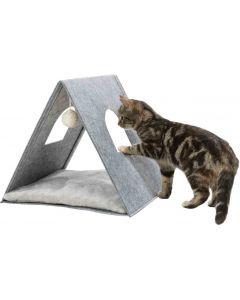 Trixie Grotte pour chaton gris clair 38 × 34 × 38 cm