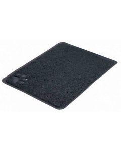 Trixie Tapis PVC anthracite pour bac à litière 40 x 60 cm