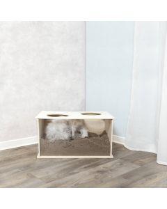 Trixie Boite à fouiner pour lapins - La Compagnie des Animaux