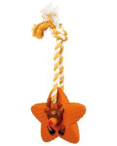 Trixie jouet de Noël Etoile pour chien 33cm - La Compagnie des Animaux