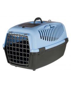 Trixie Box de transport Capri gris foncé / bleu taille 3- La Compagnie des Animaux