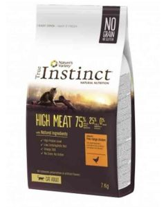 True Instinct High Meat volailles chat 7kg - La Compagnie des Animaux
