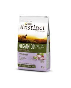True Instinct No Grain Medium Maxi Adult Dinde 12 kg - La Compagnie des Animaux