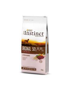 True Instinct Original Medium Maxi Adult Agneau 12kg - La Compagnie des Animaux