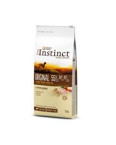 True Instinct Original Medium Maxi Adult Poulet 12kg - Dogteur