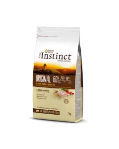 True Instinct Original Medium Maxi Junior Poulet 2kg - La Compagnie des Animaux