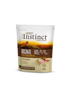 True Instinct Original Medium Maxi Junior Poulet 600g - La Compagnie des Animaux