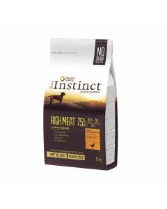 True Instinct High Meat Medium Maxi Adult volailles 12kg - La Compagnie des Animaux