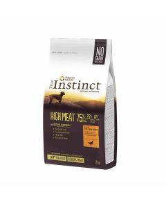 True Instinct High Meat Medium Maxi Adult volailles 2kg - La Compagnie des Animaux