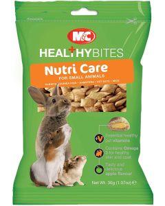 Vetiq Healty Bites Nutri-Care friandises rongeur - La Compagnie des Animaux