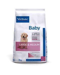 Virbac Veterinary HPM Baby Large & Medium Dog 3 kg- La Compagnie des Animaux