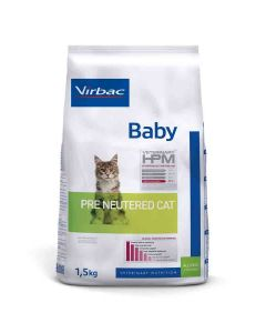 Virbac Veterinary HPM Baby Pre Neutered Cat 1.5 kg- La Compagnie des Animaux
