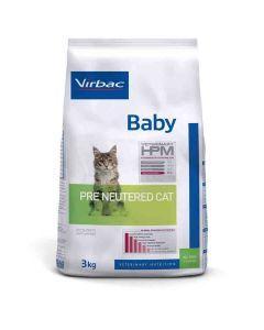 Virbac Veterinary HPM Baby Pre Neutered Cat 3 kg- La Compagnie des Animaux