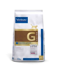 Virbac Veterinary HPM Gastro Digestive Support chat 1.5 kg- La Compagnie des Animaux