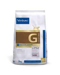 Virbac Veterinary HPM Gastro Digestive Support chat 3 kg - La Compagnie des Animaux
