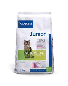 Virbac Veterinary HPM Junior Neutered Cat 1.5 kg- La Compagnie des Animaux
