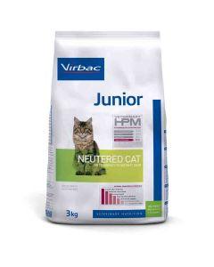 Virbac Veterinary HPM Junior Neutered Cat 3 kg- La Compagnie des Animaux